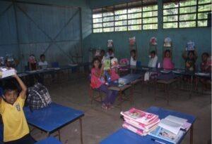 Primary school in San Pablo Jocopilas