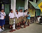 HIV positive Children from a local primary school.