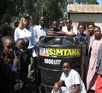 Angela Kirwin got to plant a tree at Oldonyo Sambu Elementary School